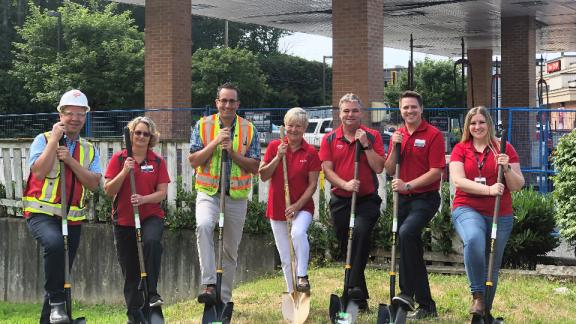 aldergrove-gas-bar-sod-turn
